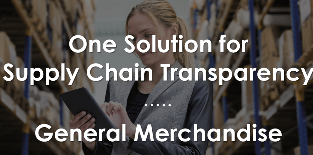 general merchandise supply chain transparency